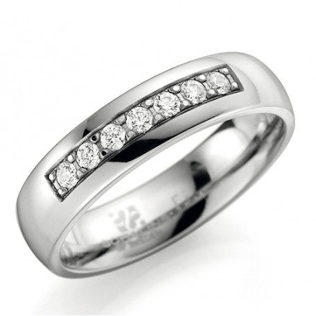 Förlovningsring Vigselring ti3507-5 ti3507-5  Schalins ringar 1,982.00