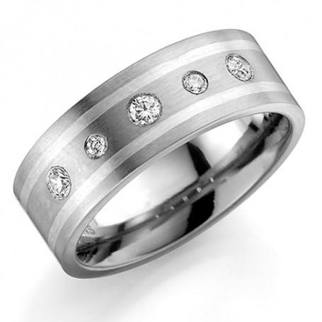 Förlovningsring Vigselring ti3504-7 ti3504-7  Schalins ringar 1,982.00