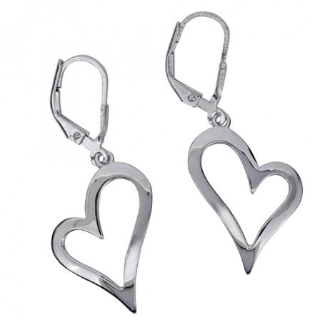 Open Heart ear SIC12  Colling Jewellery 695,00kr