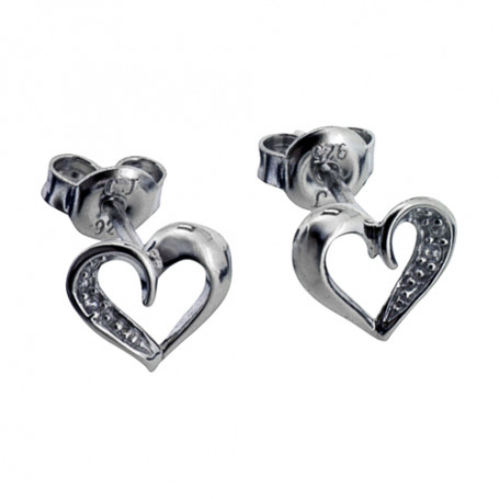 Loveheart ear SIC43  Colling Jewellery 399,00kr