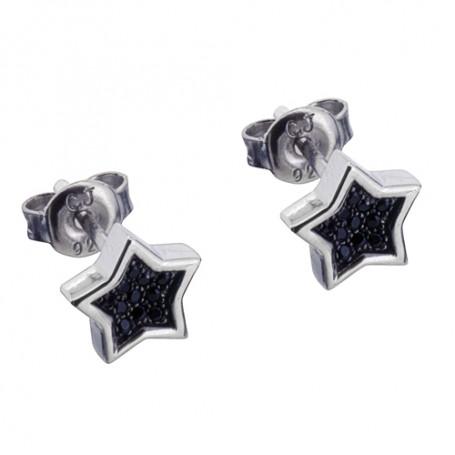 Starlight black ear SIC62  Colling Jewellery 650,00kr