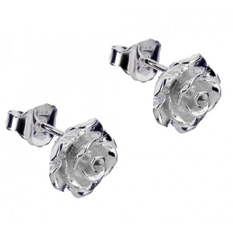 Örhängen äkta silver med ros 1-20-0013  Hem 299,00kr