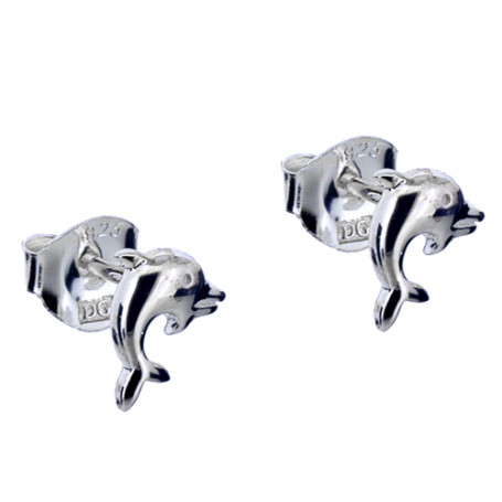 Delfinörhängen äkta silver 1-20-0015  Hem 198,00kr
