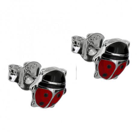 Örhängen med nyckelpigor 1-20-0022  Hem 249,00kr