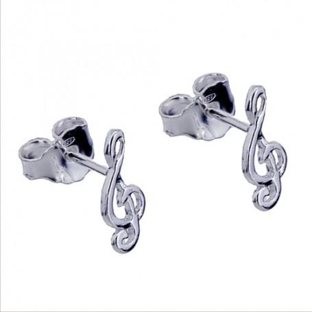 Örhängen äkta silver G-klav 1-20-0049  Hem 99,00kr