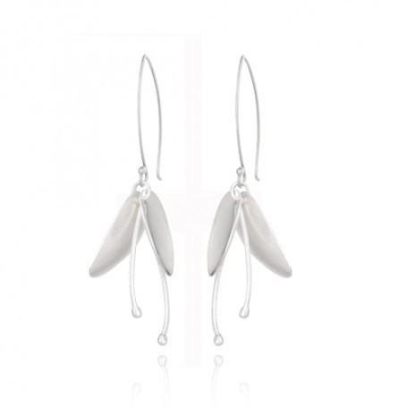 Lily Flower Medium Earrings LIF-E1M000S  Hem 1,590.00