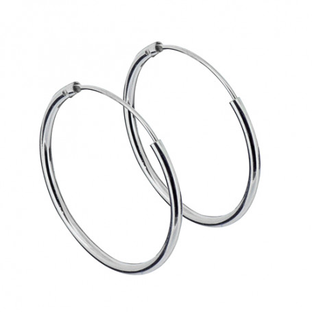 Ringar örhängen silver 20 mm 1-22-0005  Hem 119,00kr