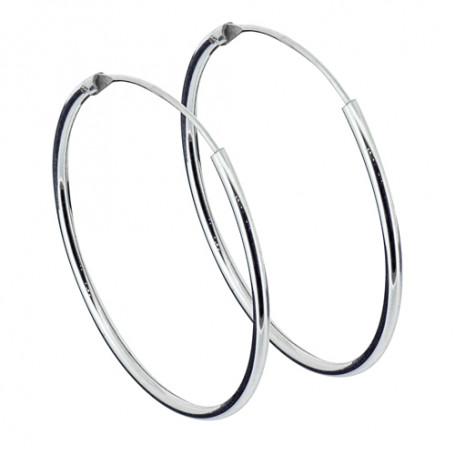 Ringar örhängen silver 25 mm 1-22-0006  Hem 129,00kr
