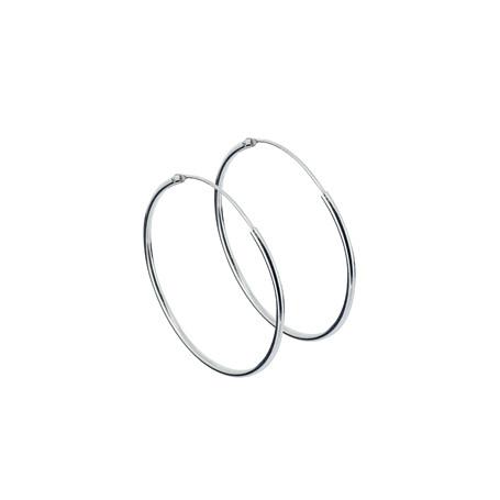 Ringar örhängen silver 30 mm 1-22-0007  Hem 139,00kr
