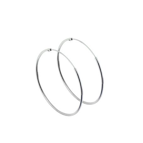 Ringar örhängen silver 35 mm 1-22-0008  Hem 159,00kr