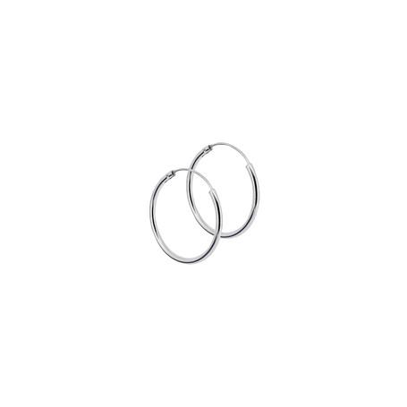 Ringar örhängen silver 25 mm 1-22-0017  Hem 199,00kr