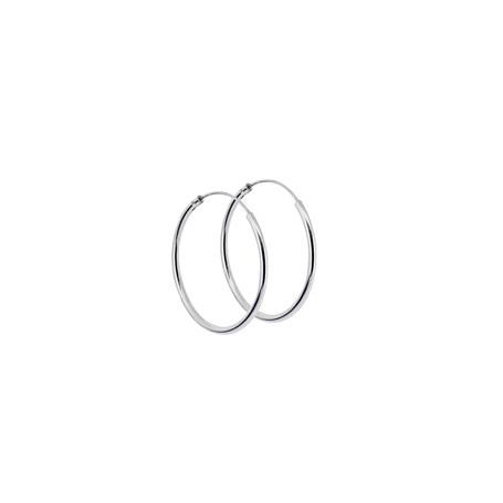 Ringar örhängen silver 30 mm 1-22-0018  Hem 249,00kr