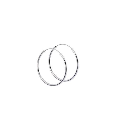Stora ringar örhängen silver 35 mm 1-22-0019  Hem 279,00kr