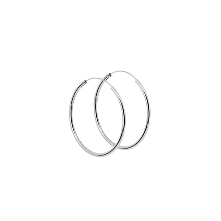 Stora ringar örhängen silver 40 mm 1-22-0020  Hem 299,00kr