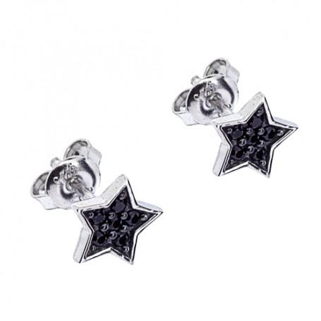 Ace ear black SIC108  Colling Jewellery 550,00kr