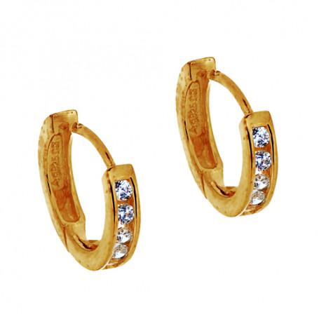 Ebony medium gold SIC124  Colling Jewellery 699,00kr