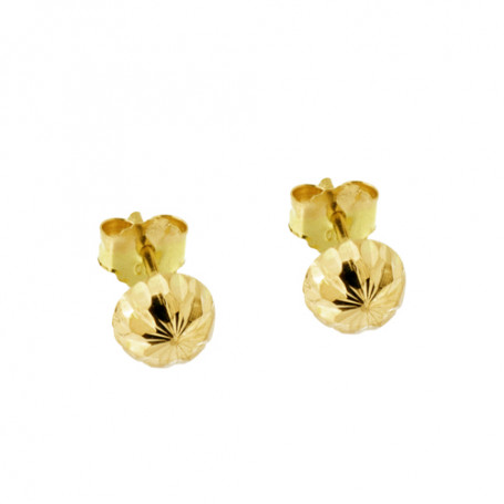 Guldörhängen kulor med fasetter 5-20-0010  Hem 1,495.00