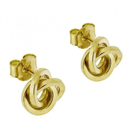 Guldörhängen knutar 18 karat 7 mm 5-20-0012  Hem 1,590.00