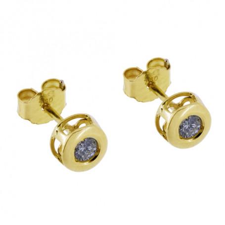 Diamantörhängen rödguld 5-20-0015  Hem 2,995.00