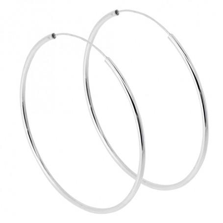 Stora ringar örhängen silver 1-22-0023  Hem 450,00kr