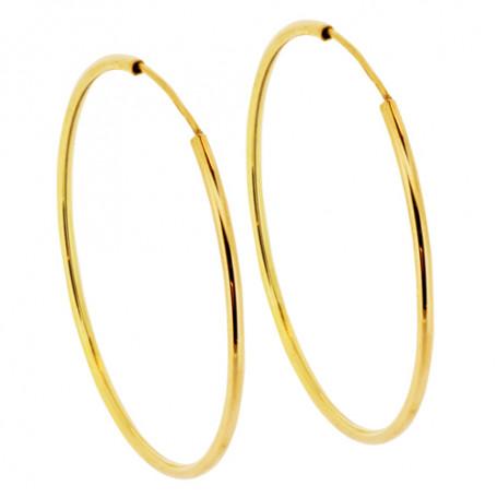 Stora guldfärgade örringar 1-22-0029  Hem 495,00kr
