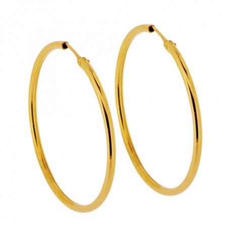 Stora guldfärgade örringar 1-22-0030  Hem 795,00kr