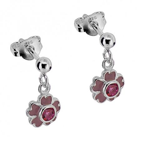 Blomma med rosa stenar 1-20-0066  Hem 199,00kr