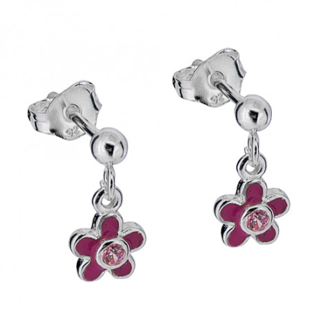 Blomma med rosa stenar 1-20-0073  Hem 199,00kr