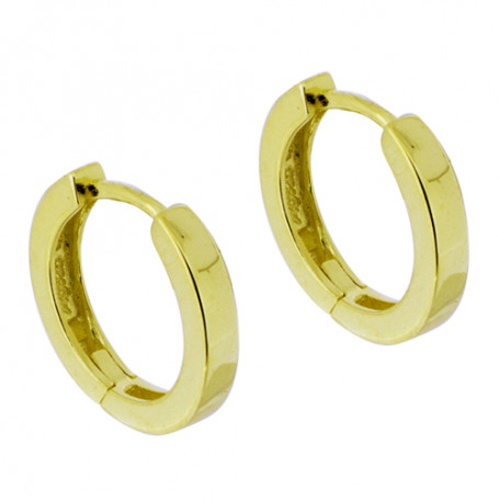 Earring medium gold SIC159  Colling Jewellery 595,00kr