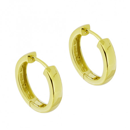 Earring large gold SIC166  Colling Jewellery 795,00 kr