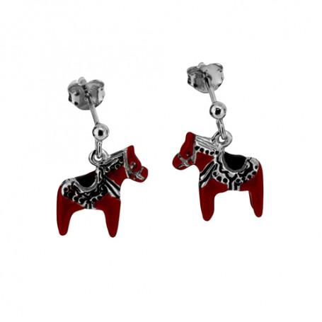 Dalahästar röda örhängen 1-20-0122  Hem 599,00kr
