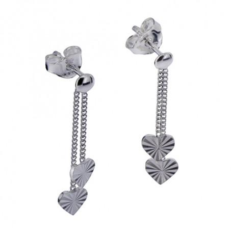 Hängande silverörhängen 1-20-0126  Hem 299,00kr