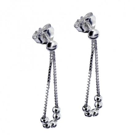 Hängande silverörhängen 1-20-0134  Hem 249,00kr