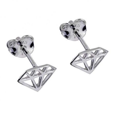 Silverörhängen Diamond 1-20-0116  Hem 149,00kr