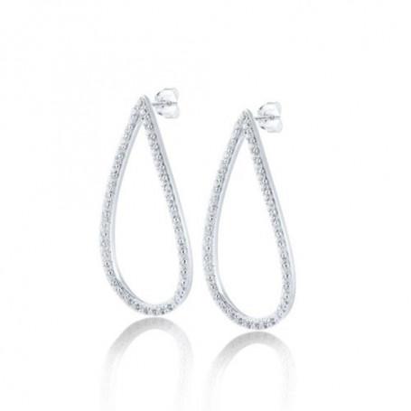 Mira stora örhängen med stenar S168 Gynning Jewellery Hem 1,990.00