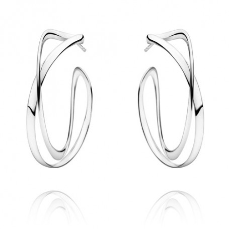 Georg Jensen Infinity earrings 3539267 Georg Jensen Hem 3,200.00