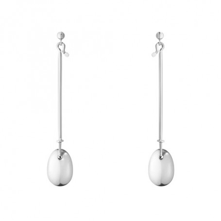 Georg Jensen Vivianna dew drop earrings silver 3537835 Georg Jensen Hem 2,750.00
