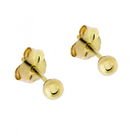 Kulor guldörhängen 3 mm 5-20-0041  Hem 695,00kr