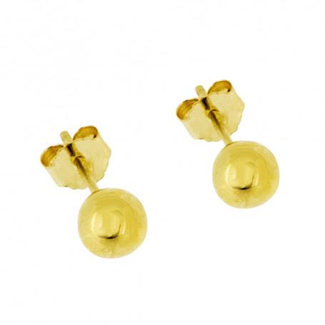 Kulor guldörhängen 5 mm 5-20-0043  Hem 895,00kr