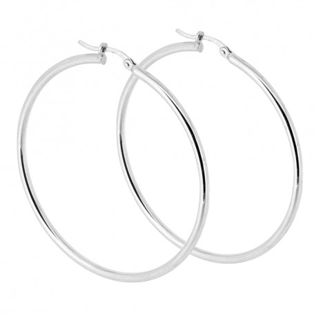 Guldörhängen stora ringar vitguld 5-20-0071  Hem 3,995.00