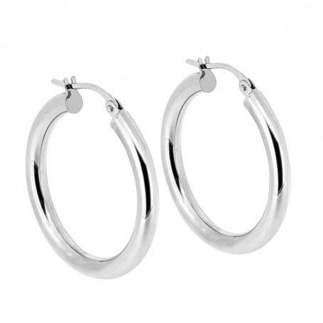 Stora ringar vitguld örhängen 5-20-0075  Hem 3,995.00