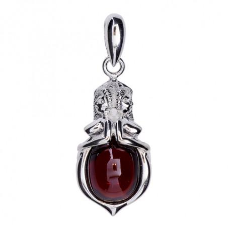 Emmahänge mellan silver röd ZEHMröd Zorn Jewellery Hem 1,590.00