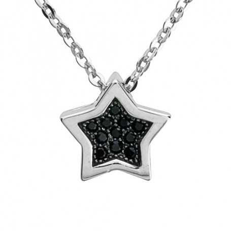 Starlight black SIC60  Halsband 36cm till 50cm 550,00kr