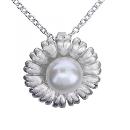 Smycke med pärla 1-10-0015  Halsband 36cm till 50cm 450,00kr