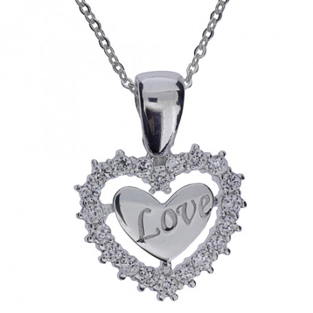Smycke Love 1-10-0031  Halsband 36cm till 50cm 595,00kr
