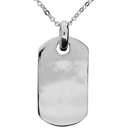 Tag i äkta silver 1-11-0005  Halsband 36cm till 50cm 399,00kr
