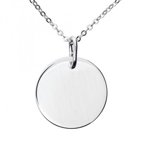 Rondell i äkta silver 1-11-0014  Halsband 36cm till 50cm 269,00kr