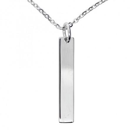 Stav i äkta silver 1-11-0023  Halsband 36cm till 50cm 595,00kr