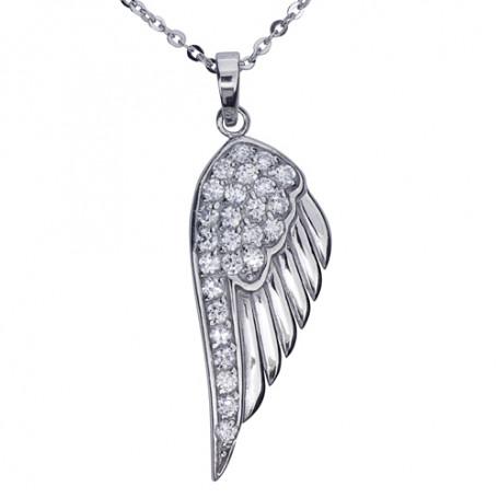 Halsband med änglavinge 1-10-0078  Halsband 36cm till 50cm 599,00kr