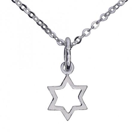Halsband med stjärna 1-10-0090  Halsband 36cm till 50cm 149,00kr